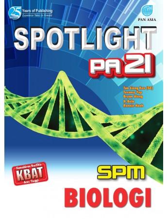 SPOTLIGHT PA 21 SPM Biologi