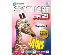SPOTLIGHT PA 21 Sains Tingkatan 1