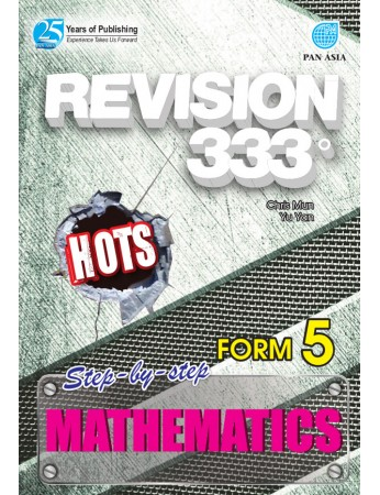 REVISION 333 Mathematics Form 5