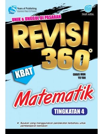 REVISI 360 Matematik Tingkatan 4