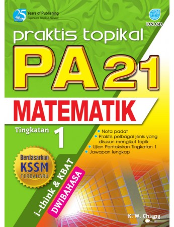 PRAKTIS TOPIKAL PA 21 Matematik Tingkatan 1