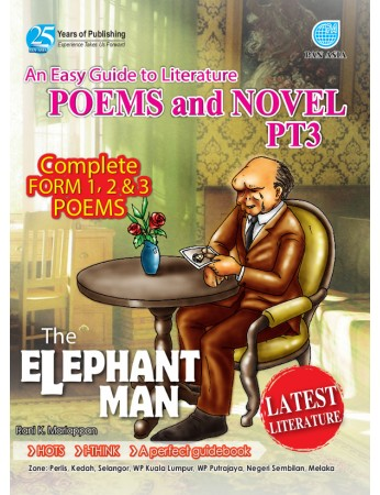 AN EASY GUIDE TO LITERATURE COMPONENT Poems and Novel The Elephant Man PT3