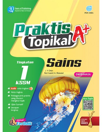 PRAKTIS TOPIKAL A+ Sains Tingkatan 1 KSSM