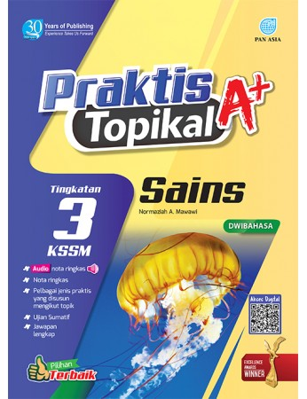 PRAKTIS TOPIKAL A+ Sains Tingkatan 3 KSSM