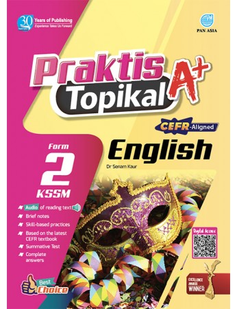 PRAKTIS TOPIKAL A+ English Tingkatan 2 KSSM