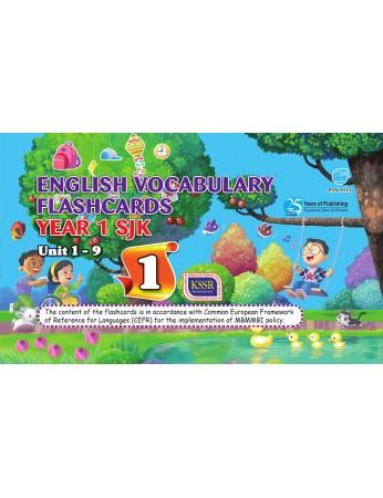English Vocabulary Flashcards Year 1 (SJK)