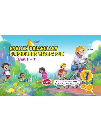 English Vocabulary Flashcards Year 4 (SJK)