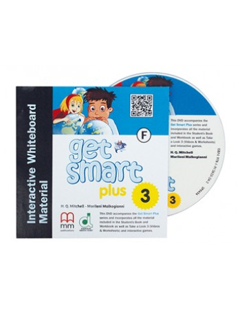 GET SMART PLUS 3 Interative Whiteboard Materials & DVD-ROM