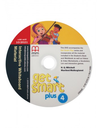 GET SMART PLUS 4 Interactive Whiteboard Materials & DVD-ROM