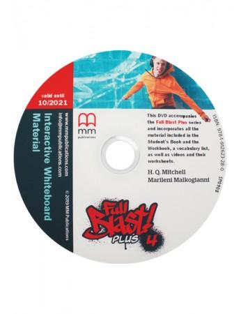 FULL BLAST PLUS 4 Interactive Whiteboard Materials & DVD-ROM