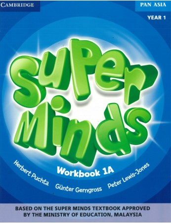 SUPER MINDS Workbook 1A