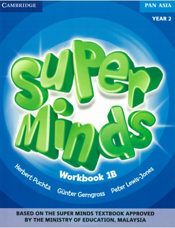 SUPER MINDS Workbook 1B