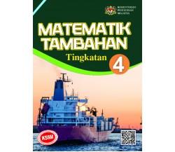 Buku Teks Matematik Tambahan Tingkatan 4